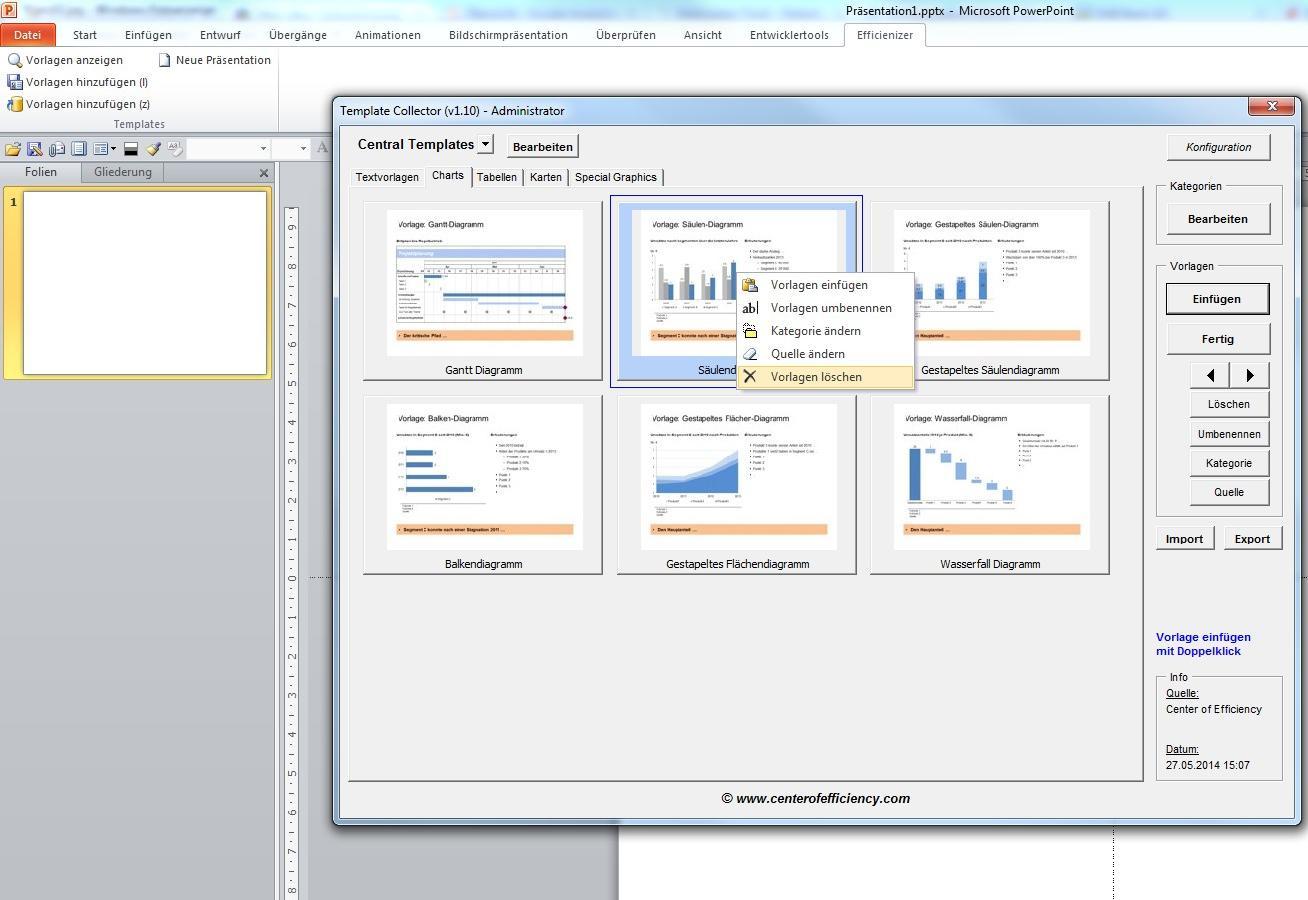 PowerPoint Folienbibliothek Template Collector: Zentrales verwalten ...