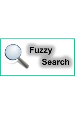 Fuzzy Search - Fehlertolerante Suche mit Sofortvorschau